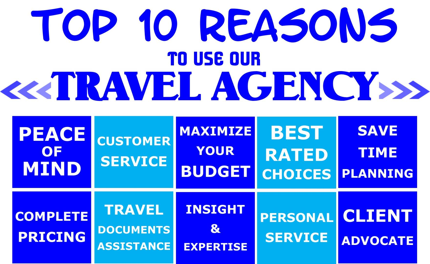 Top Ten Reasons To Use Our Agency.